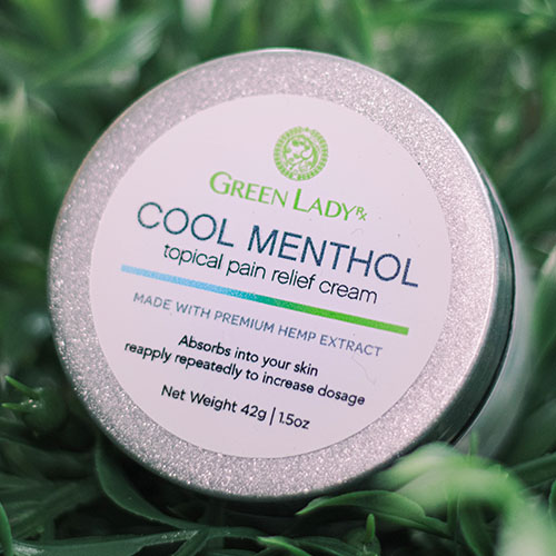Menthol Cream For Pain Relief