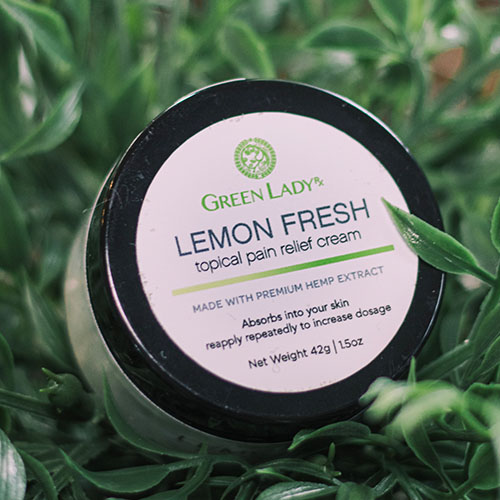 Lemon Fresh CBD Sports Cream