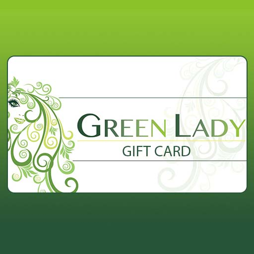 Greeh Lady Gift Card